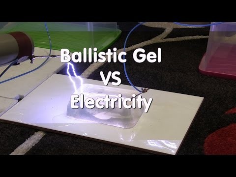 Ballistic Gel Vs Electricity