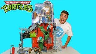 Teenage Mutant Ninja Turtles City Sewer Lair Playset !    Toy Review    Konas2002