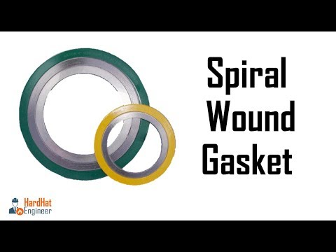Spiral Wound Gasket Basics, Components, Marking, Color Coding for Engineer