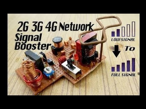 Mobile Signal Booster How to make mobile signals booster using LM386 ic Unique TechChip