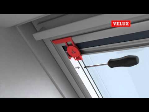 VELUX Blackout Blind Installation at www.leadinginteriors.com