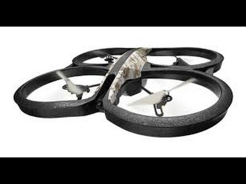 Parrot AR Drone 2.0 (opening birthday Presents)
