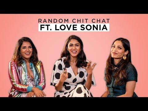 Xxx Mp4 MensXP Random Chit Chat Ft Richa Chadha Freida Pinto And Mrunal Thakur From Love Sonia 3gp Sex