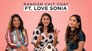 MensXP: Random Chit Chat Ft. Richa Chadha, Freida Pinto and Mrunal Thakur From Love Sonia