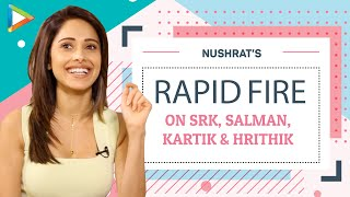 """Salman Khan, then Ranbir Kapoor & Then.."": Nushrat Bharucha On Top 5 Actors in Bollywood | SRK"
