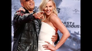 Vin Diesel KISSING Charlize Theron | Fast and Furious 8