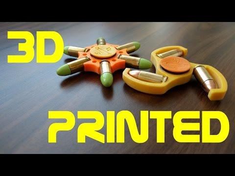 Bullet Fidget Spinner - 3D Printed