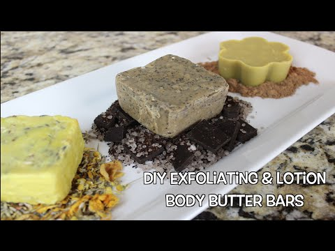 DIY Exfoliating & Lotion Body Butter Bars | Bath & Body Series | MariaAntoinetteTV
