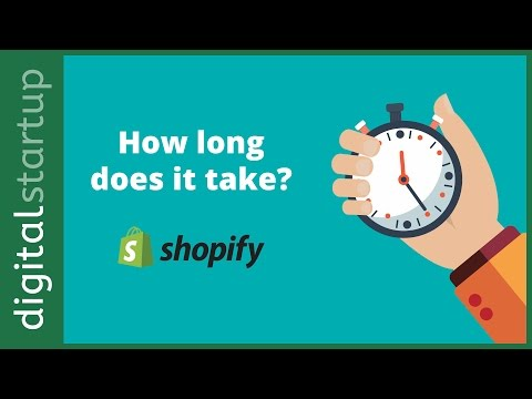 How long does it take to build a simple Shopify store