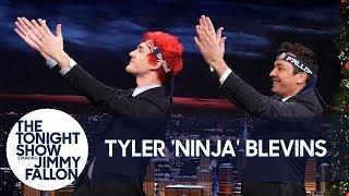 Download Tyler ″Ninja″ Blevins Teaches Jimmy the Pon Pon Dance Video