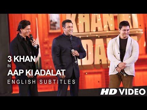Xxx Mp4 Shah Rukh KHAN Salman KHAN Aamir KHAN 21 Years Of AAP KI ADALAT English Subs 3gp Sex