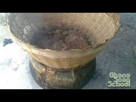 How African Black Soap Powder Is Made