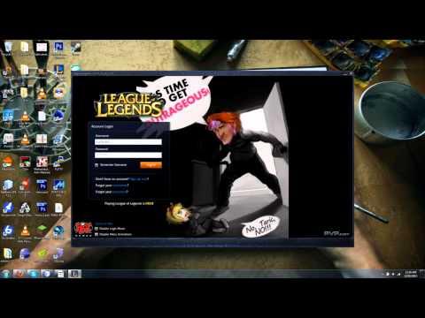 Taric Custom Login Screen - League of Legends