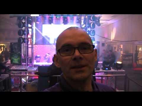 ENTECH audio visual trade show melbourne day 2 DJ