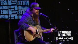 """Chris Stapleton """"Broken Halos"""" Live on the Howard Stern Show"""