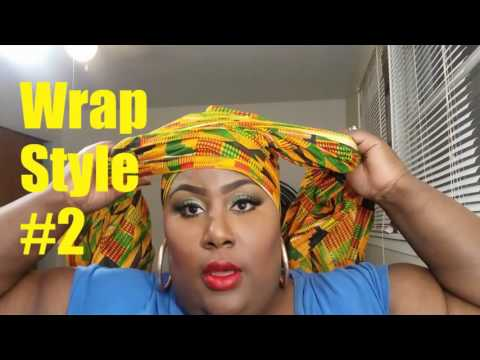 D.I.Y Fabric Head Wraps(Afrocentric)