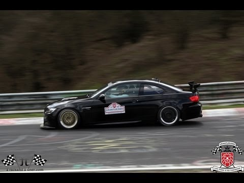 BMW M3 E92 With Akrapovic byTeam Schirmer On The Nordschleife Nurburgring