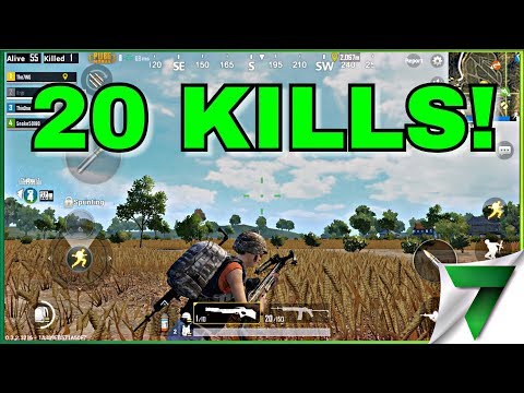 20 KILL GAME! CARRYING N00bs!! | PUBG MOBILE