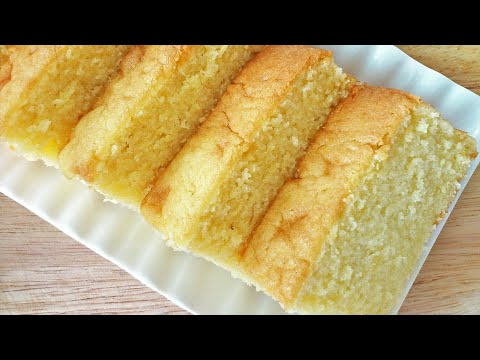 Fluffy Butter Cake (牛油蛋糕)