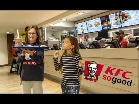 Ewa and Sonia visit KFC restaurant KFC food review