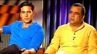 Akshay, Paresh Rawal's take on God and Bollywood