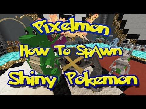 Pixelmon Tutorials: How To Spawn Shiny Pokemon (Begginers Guide)