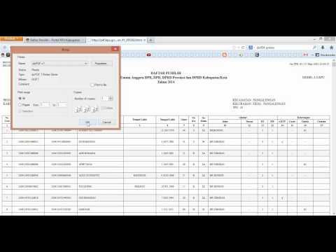 Cara mencetak pdf dari file