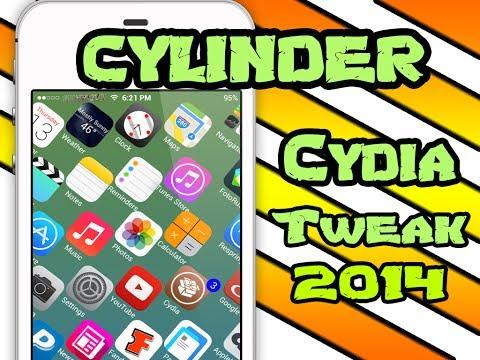 iOS 7 [FREE MUST HAVE] Jailbreak Tweak 2015: Cylinder BARREL-CLONE