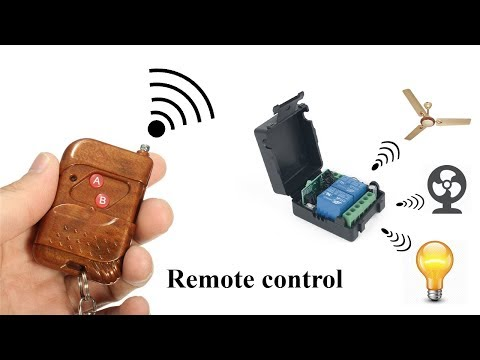 New RF Remote Control Switch for ( Light and Fan )