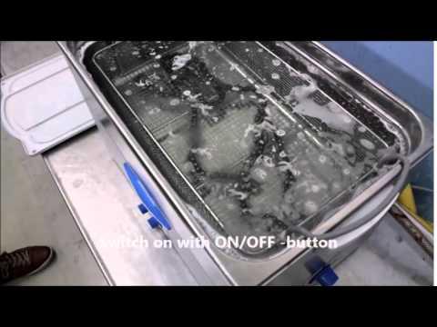 FinnSonic M30 - ultrasonic cleaning