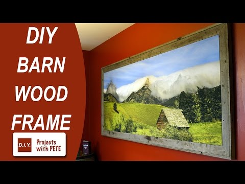 How to frame a Canvas   Framing a Canvas