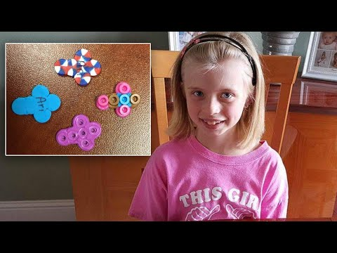 Girl Hands Out Beaded Crosses to Police Departments to Keep Them Safe