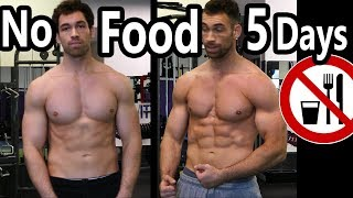 Fasting Without Losing Muscle (5 DAY FAST RESULTS) How to fast for fat loss & to lose weight