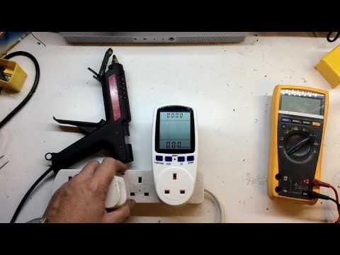 Plug-in Energy Monitor Power Meter