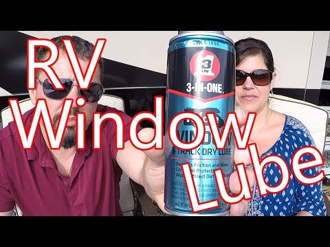3-IN-ONE RVcare Window & Track Dry Lube + Lava Soap! By The Depreys!