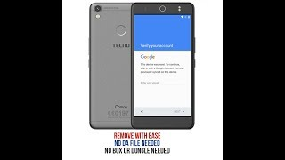 How to bypass google account(frp) on TECNO CX CAMON no pc