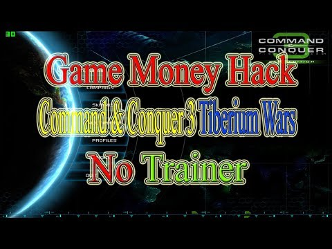 How to Command & Conquer 3 Tiberium Wars Money Hack Without Trainer