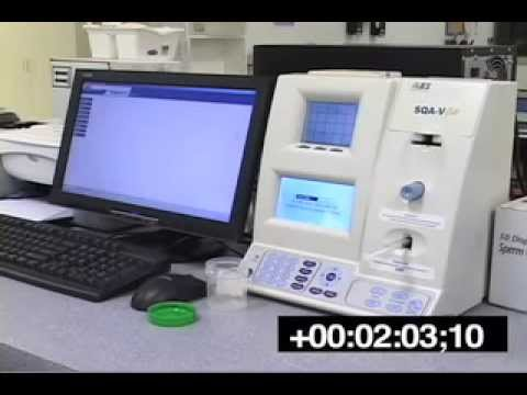 AUTOMATED SEMEN ANALYSIS | SQA-V Gold | Sperm Quality Analyzer for Semen Analysis