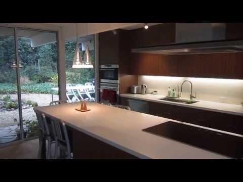 Eichler Kitchen Cabinet Renovation in Walnut