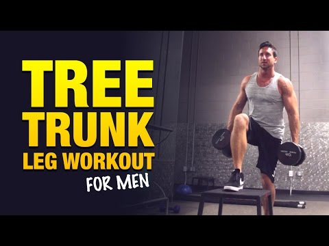 Leg Workouts For Men: The Big Tree Trunk Leg Workout
