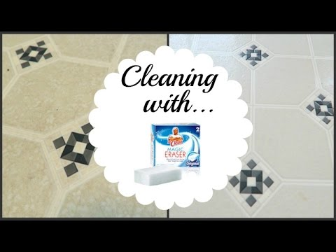 Restoring Floors with Magic Eraser | Clean With Me