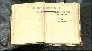 Skyrim Gameplay - Archer journeys to Falkreath