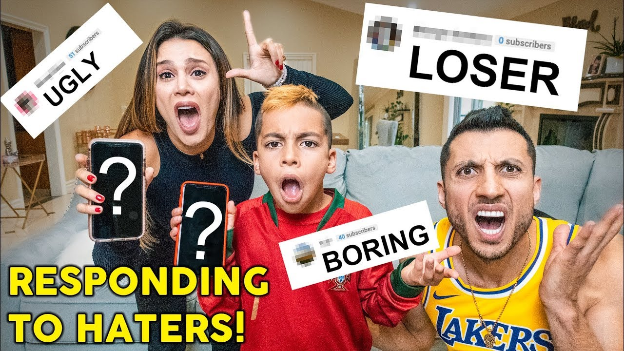 READING ASSUMPTIONS About Our Family **WE CRIED** | The Royalty Family