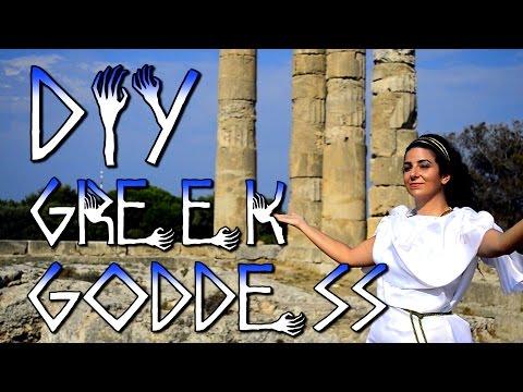 Greek/Roman Goddess/God costume Halloween DIY