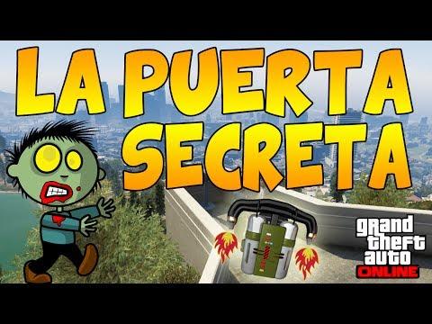 La Puerta Secreta - ¿Jetpack? ¿DLC Zombies? Misterios GTA V - Easter Egg Puerta Secreta