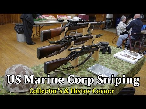 US Marine Corp Sniping | Collector's & History Corner