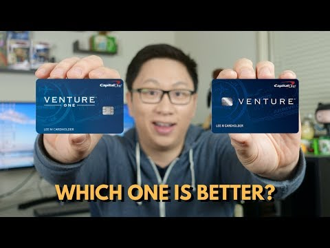 10x on Hotels.com: Capital One Venture vs. VentureOne (2018)