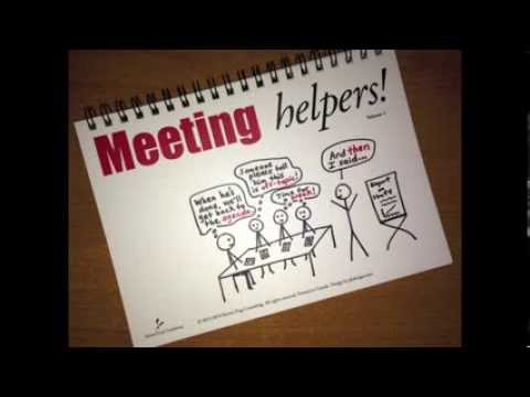 Meeting Helpers: How to Interject ... Without Interrupting