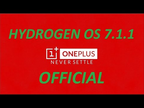 Hydrogen OS upgrade to Android  7.1.1 OFFICIAL (ONEPLUS 3/3T) Installation/ Google play store