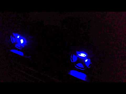 LEDs in audiotube